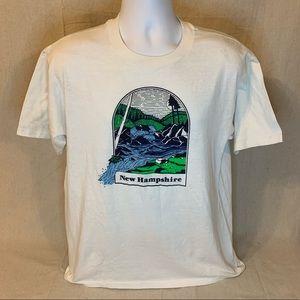 Vintage 90s Single Stitch New Hampshire T-Shirt
